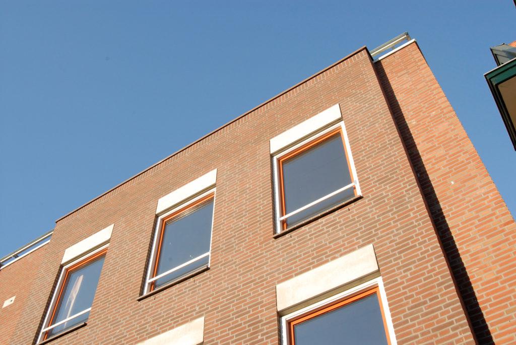 baksteen architectuur leiden