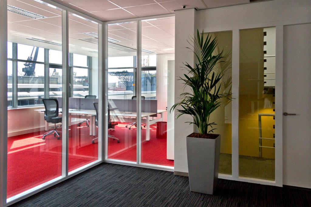 interieur renovatie kantoor