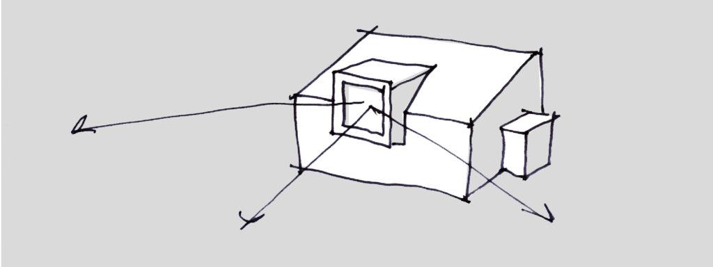 architectuur schets